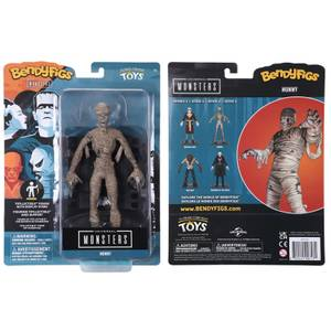 Noble Collection Universal Monsters The Mummy BendyFig 7.5 Inch Action Figure
