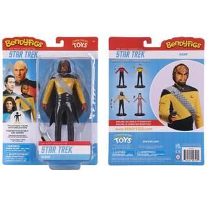Noble Collection Star Trek Lieutenant Worf BendyFig 7.5 Inch Action Figure