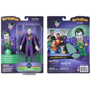 Noble Collection DC Universe Joker BendyFig 7.5 Inch Action Figure