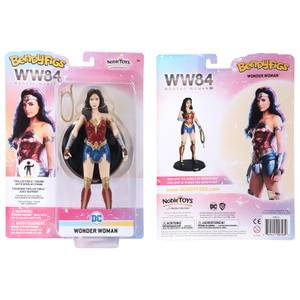 Noble Collection DC Universe Wonder Woman BendyFig 7.5 Inch Action Figure