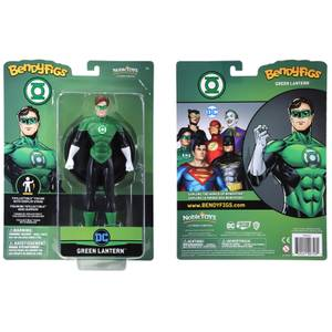 Noble Collection DC Universe Green Lantern BendyFig 7.5 Inch Action Figure