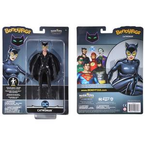 Noble Collection DC Universe Catwoman BendyFig 7.5 Inch Action Figure