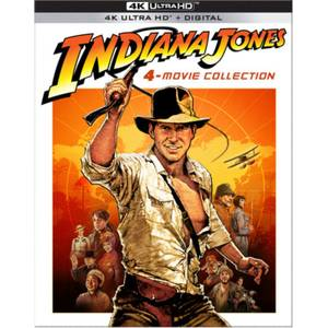 Indiana Jones: 4-Movie Collection - 4K Ultra HD Steelbook