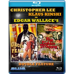 Double Feature: Circus of Fear / Five Golden Dragons