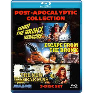 Post-Apocalyptic Collection: 1990 The Bronx Warriors / Escape From The Bronx / The New Barbarians