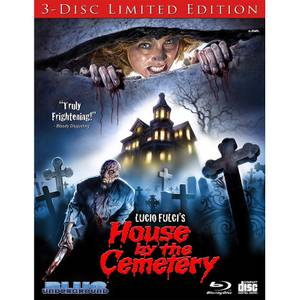 The House By The Cemetery: 3-Disc Limited Edition (Includes CD)