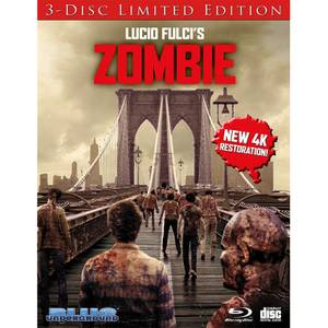 Zombie: 3-Disc Limited Edition (Bridge Cover) (Includes CD)