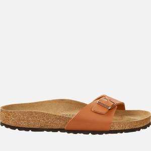 Birkenstock Women's Madrid Slim Fit Single Strap Sandals - Ginger Brown