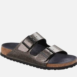 Birkenstock Women's Arizona Slim Fit Leather Double Strap Sandals - Sparkling Multicolor