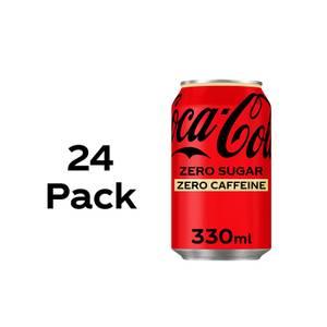 Coca-Cola Zero Sugar Zero Caffeine 24 x 330ml