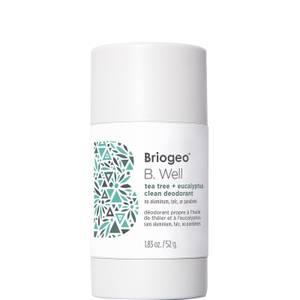 Briogeo B. Well Tea Tree + Eucalyptus Clean Natural Deodorant