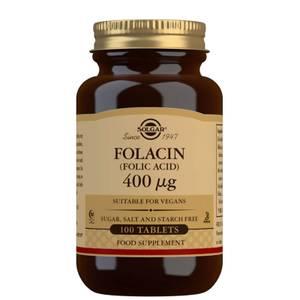 Solgar Folacin (Folic Acid) 400 mcg