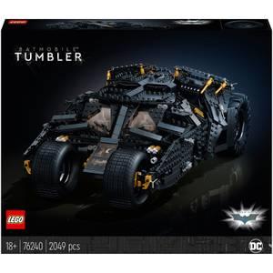 LEGO DC Batman Batmobile Tumbler Car Set for Adults (76240)