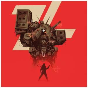 Mondo - Metal Gear 2: Solid Snake Original Video Game Soundtrack Red Galaxy Vinyl