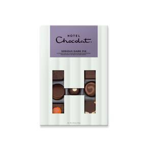 Hotel Chocolat Serious Dark Fix H-Box