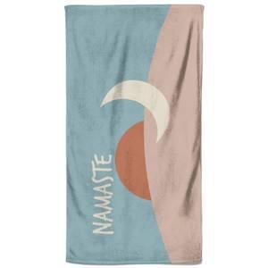 Yoga Namaste Beach Towel