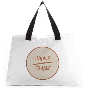 Yoga Inhale Exhale Yoga Tote Bag