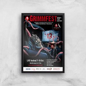 Grimmfest 13th Edition 2021 Giclée Art Print