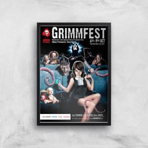 Grimmfest 2016 Giclée Art Print