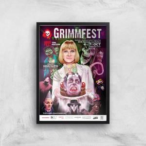 Grimmfest 10th Edition 2018 Giclée Art Print