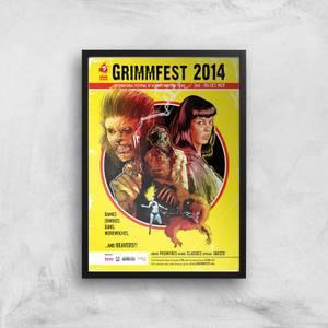 Grimmfest 2014 Giclée Art Print