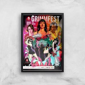 Grimmfest 11th Edition 2019 Giclée Art Print