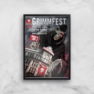 Grimmfest 2015 Poster Giclée Art Print