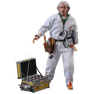 Hot Toys Back to the Future Movie Masterpiece Action Figure 1/6 Doc Brown (Deluxe Version) 30cm