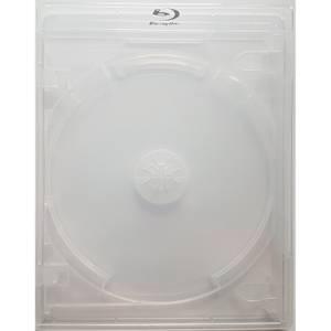 Double Disc 15mm Blank Viva Blu-ray Case