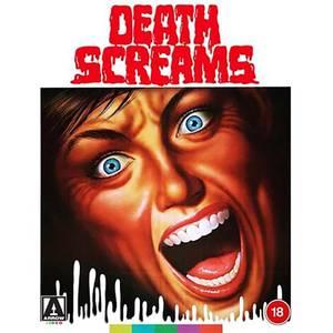 Death Screams Arrow Store Exclusive Limited Edition O-Card