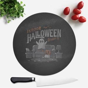 Indoor Halloween Round Chopping Board