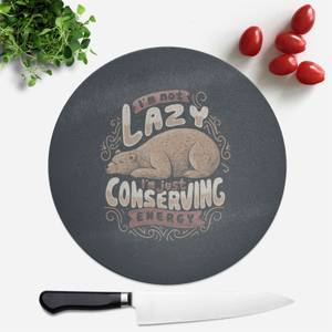 Lazy Bear Round Chopping Board