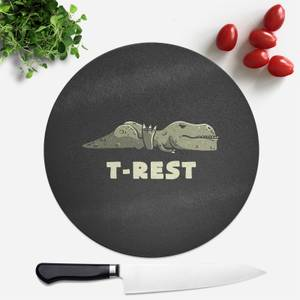 T-Rest Round Chopping Board
