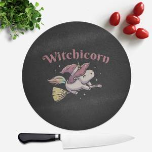 Witchicorn Round Chopping Board