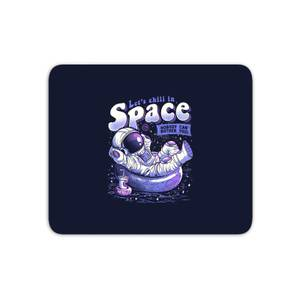 Chilling In Space Mouse Mat