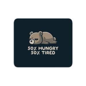 Hungry And Tired Mouse Mat