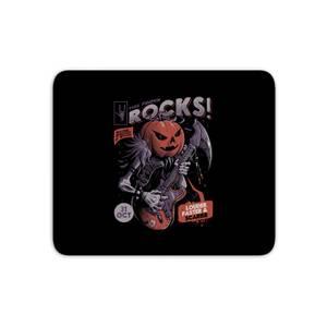 Rock Pumpkin Mouse Mat