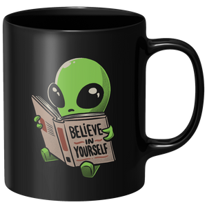 Believe In Yourself Mug - Black