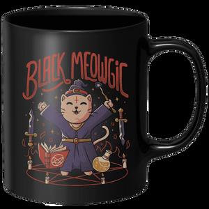 Black Meowgic Mug - Black