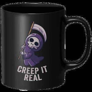 Creep It Real Mug - Black
