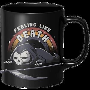 Feeling Like Death Mug - Black