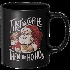 First The Coffee Mug - Black