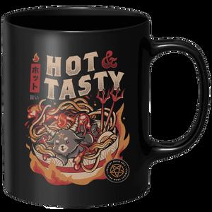 Hot And Tasty Mug - Black