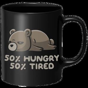 Hungry And Tired Mug - Black