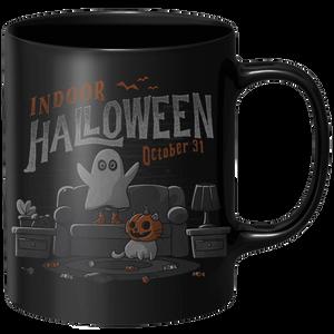 Indoor Halloween Mug - Black