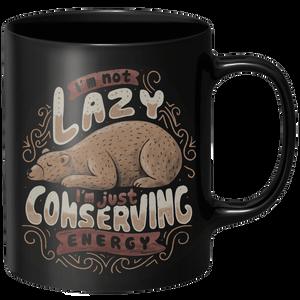 Lazy Bear Mug - Black