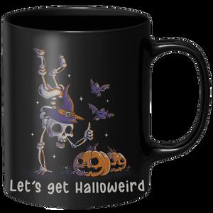 Lets Get Halloweird Mug - Black