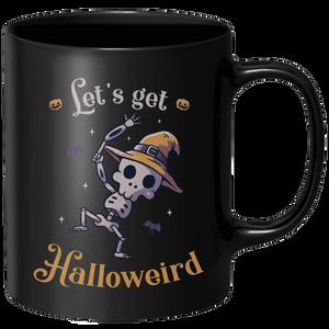 Lets Get Halloweird Dance Mug - Black