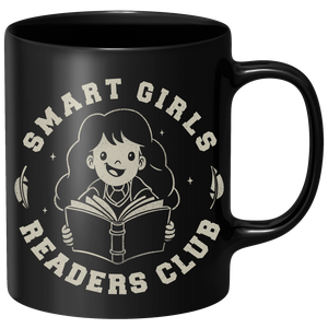 Smart Girls Readers Club Mug - Black