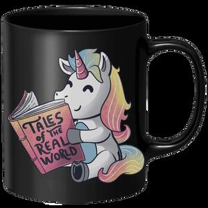 Tales Of The Real World Mug - Black
